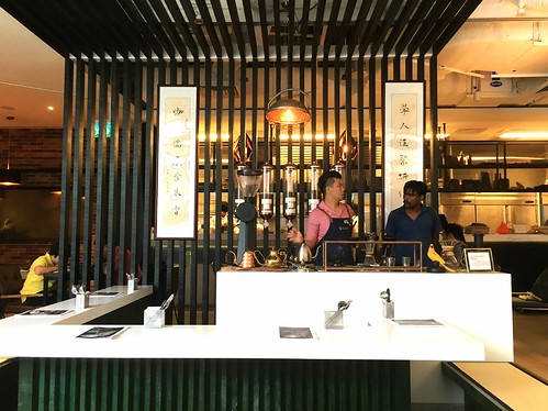Hand brew bar. The Coffee Academics, Scotts Square, Singapore