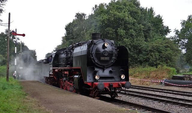VSM BR50 Terug naar Toen Stoomloc 50 307 Spoorwegmuseum