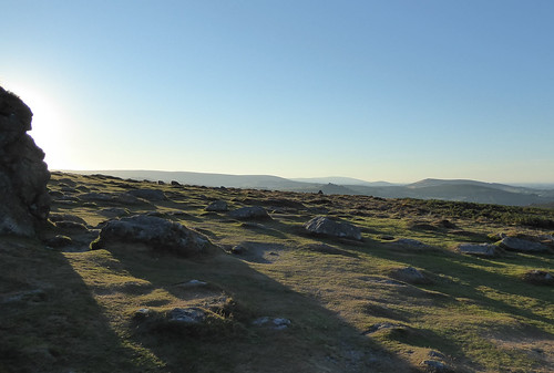 Dartmoor moonscape