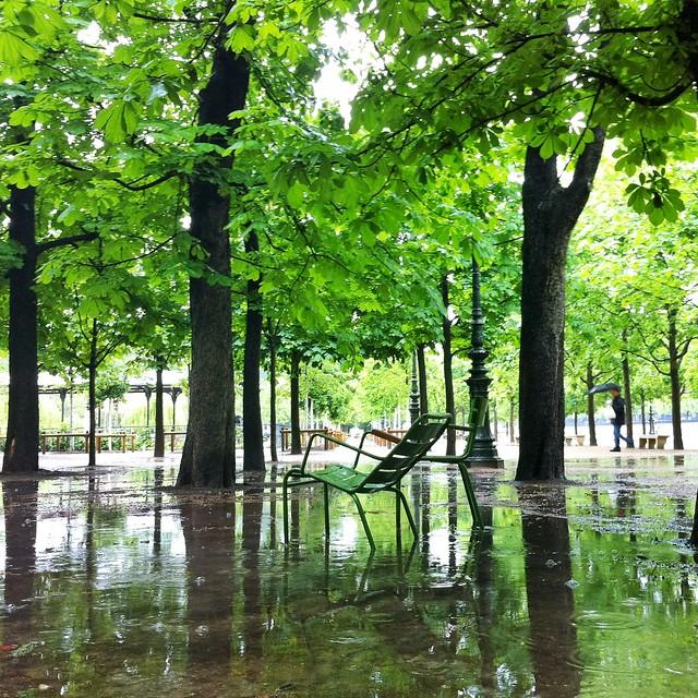 Parisian armchair @ Tuileries Garden