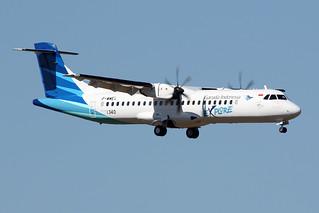 25 août 2016 - GARUDA INDONESIA - ATR 72-600 F-WWEX msn 1340 - LFBO - TLS