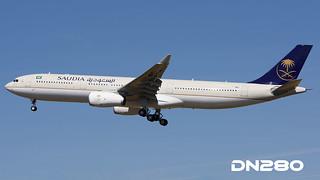 Saudia A330-343 msn 1724