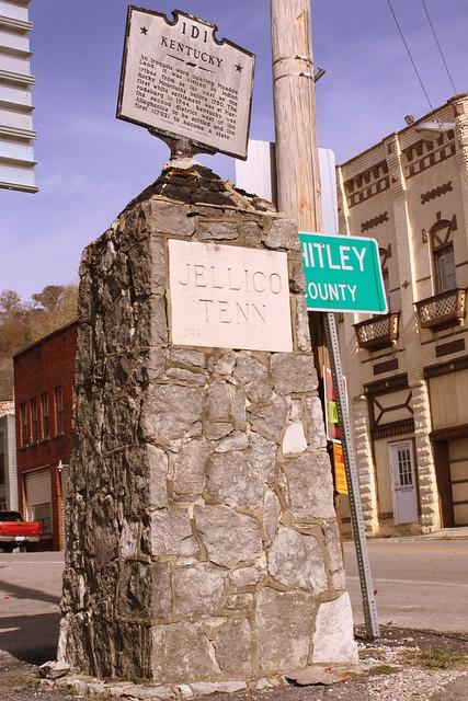 Jellico, TN Stone Marker