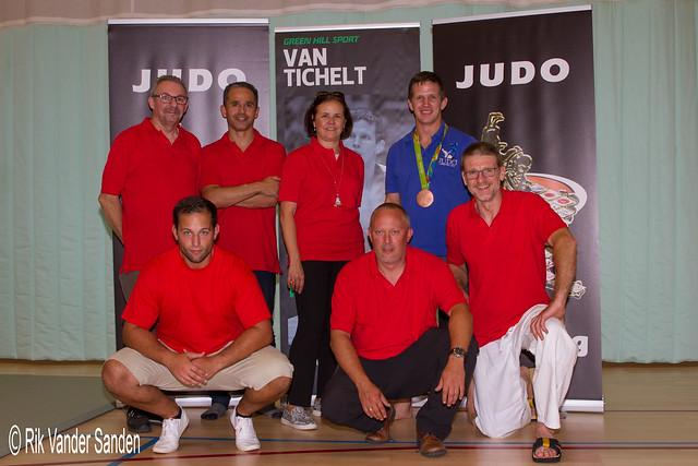 Open Stage Judo Limburg met Koen Sleeckx en Dirk Van Tichelt - 03.09.2016 Genk