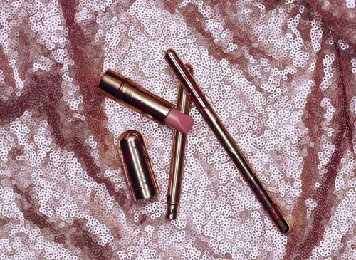 Besame Cosmetics Lipstick in Portrait Pink