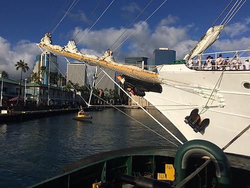 Esmeralda off Pier 7