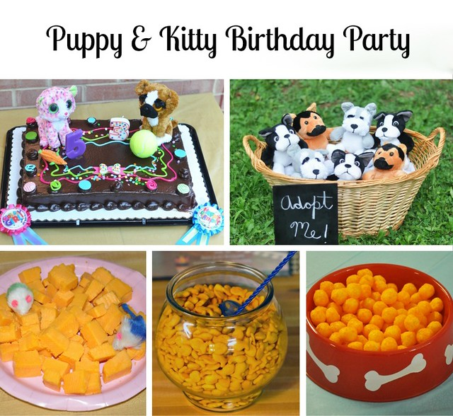 Puppy & Kitty Birthday Party