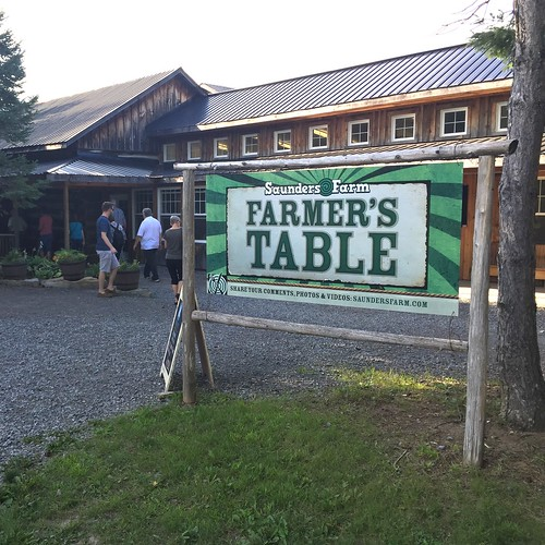 Saunders Farm, Farm to Table dinner