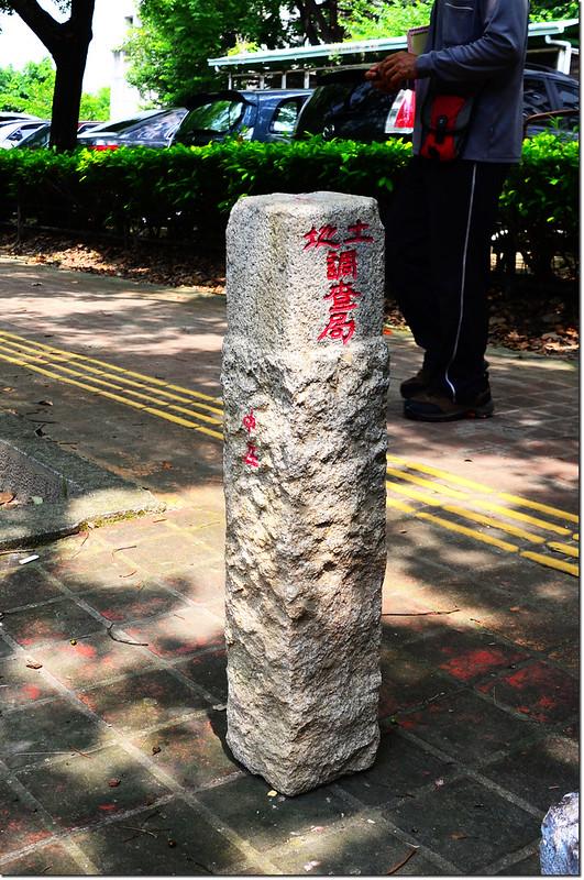 台南下營中庄土地調查局圖根點(Elev. 7 m) 3