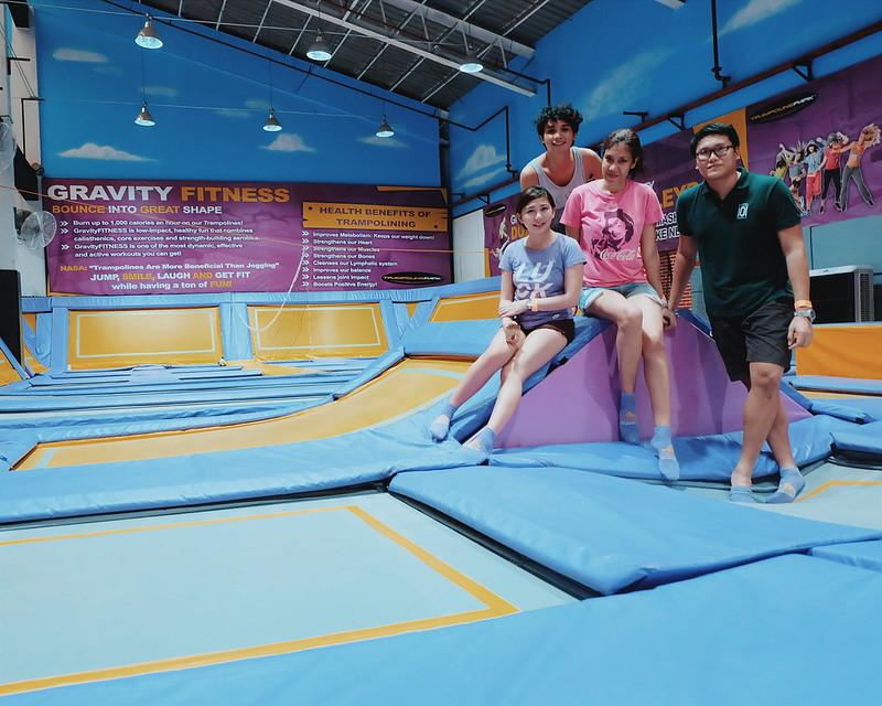 trampoline park ortigas