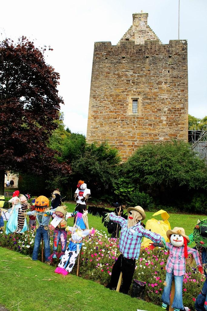 Tower at Dean Castle, Scotland.
