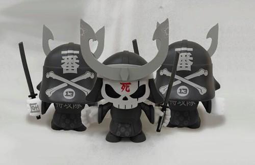 Skull head Samurai
