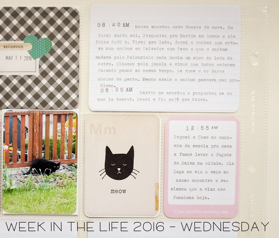 Week in the Life - Wednesday