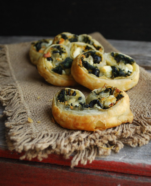 Spinach, Feta and Olive Pinwheels 2