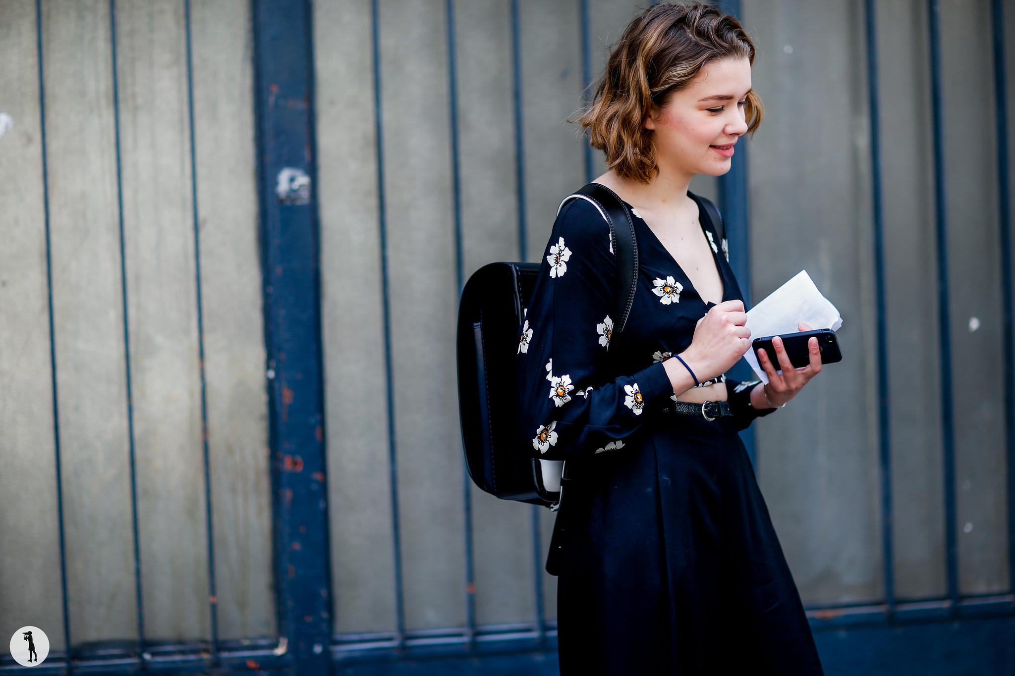 Chloe Gasquet - Paris Fashion Week Menswear SS17 (2)