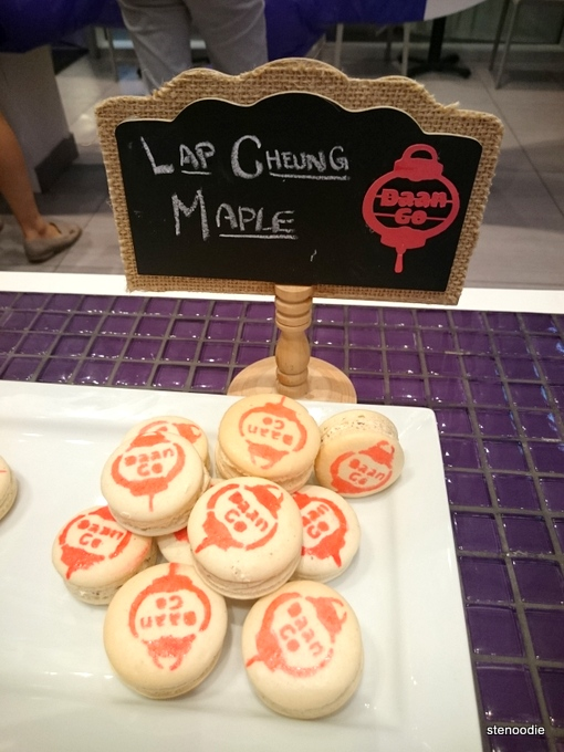 Lap Cheung Maple macarons from Daan Go