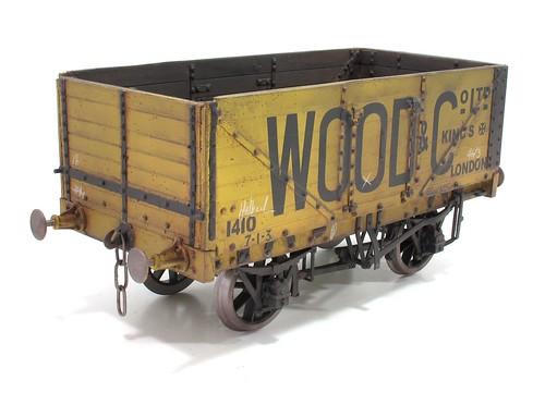 Gauge 3 railway wagon