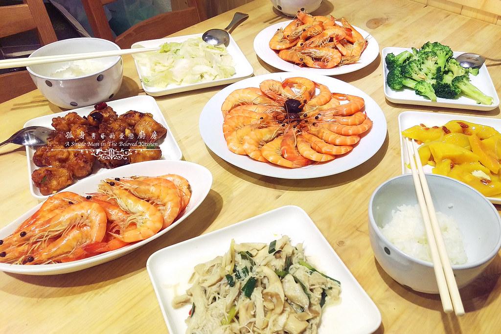 孤身廚房-超乎想像!解凍即食和現煮的一樣好吃—Mess Maker.蝦攪和.冷泡蝦(活動現場)4