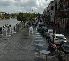 Calle Betis desde la Plaza del Altozano