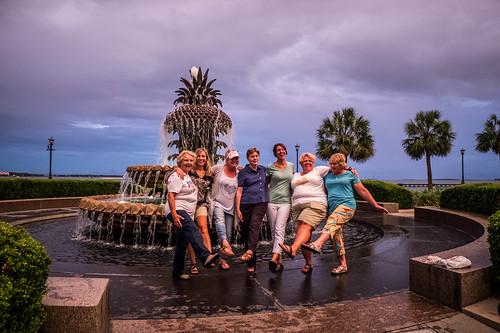 Pineapple Fountain in Charleston-004