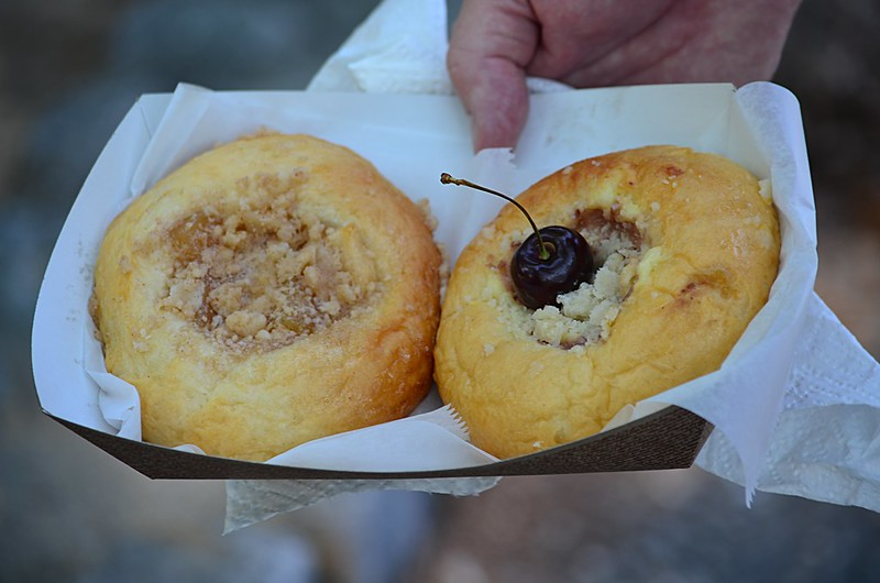 Apple and Cherry Kolaches