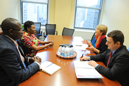 UN Women Executive Director Michelle Bachelet meets with Minister of Burundi | by UN Women Gallery