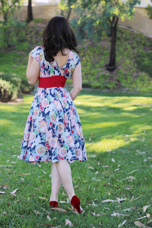 Trashy Diva Sandy Dress in Pearl Harbor Print