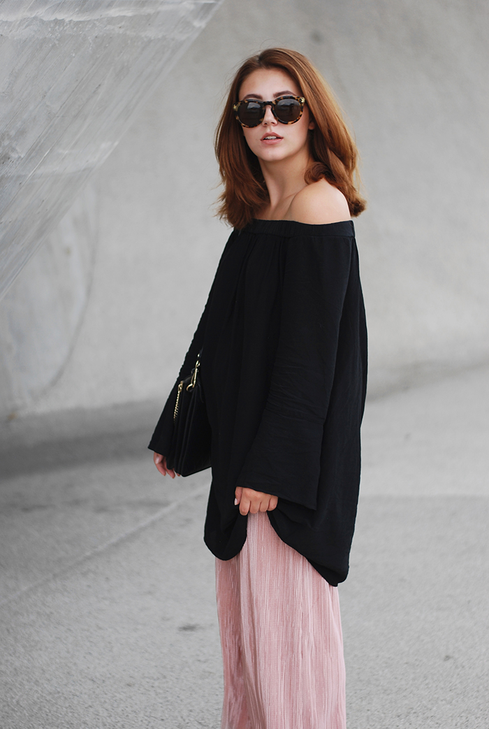 Rose-culottes-off-shoulder-dress-2