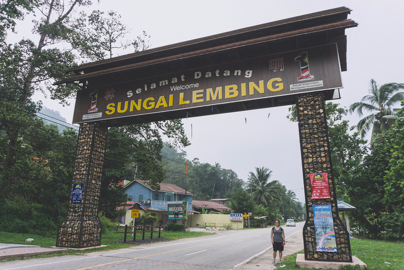 Sungai Lembing, Pahang - welcome arch