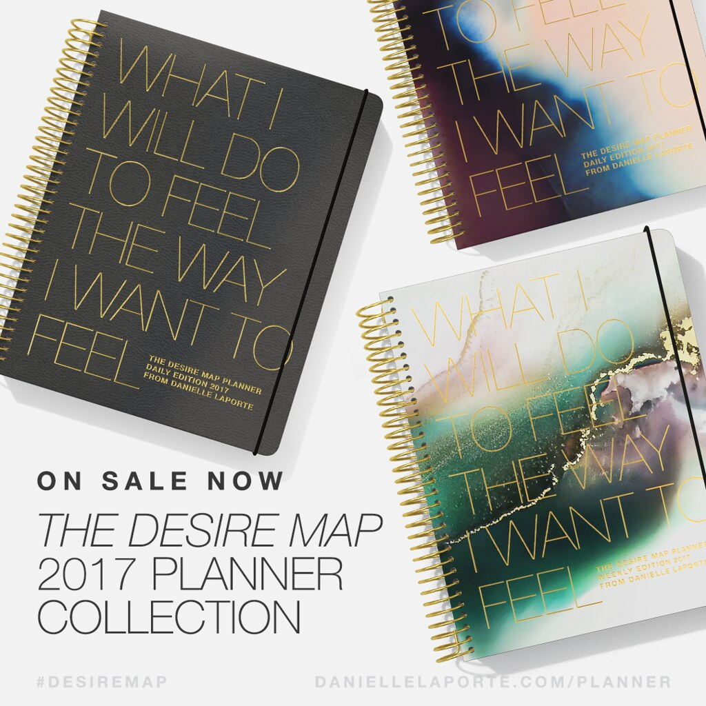 The Desire Map Planner is here!