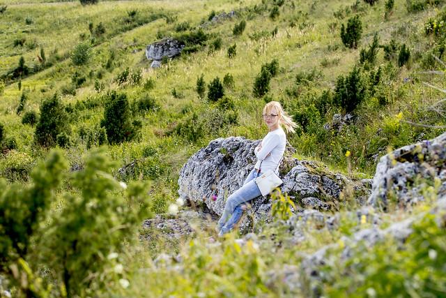 P. on the rocks - Jura