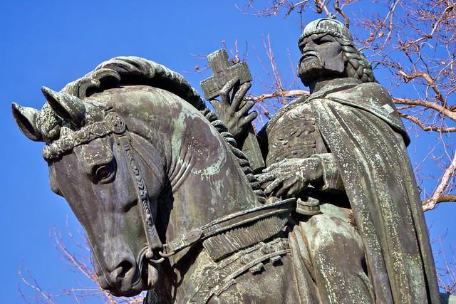 Szent István, Székesfehérvár