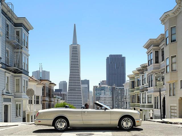 Кабриолет Bentley Azure для рынка США. 2007 – 2008 годы