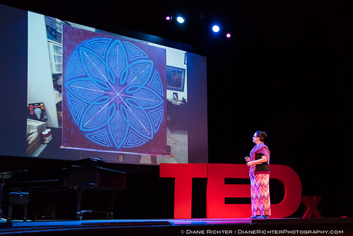 Stephanie Smith speaking at TEDxLehighRiver