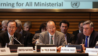 Learning for All Ministerial Roundtable with World Bank Group President Jim Yong Kim | by World Bank Photo Collection