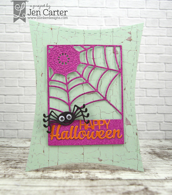 Jen Carter Wonky Spiderweb Greeting front wm