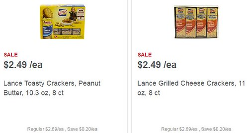Lance Sandwich Cracker Coupon