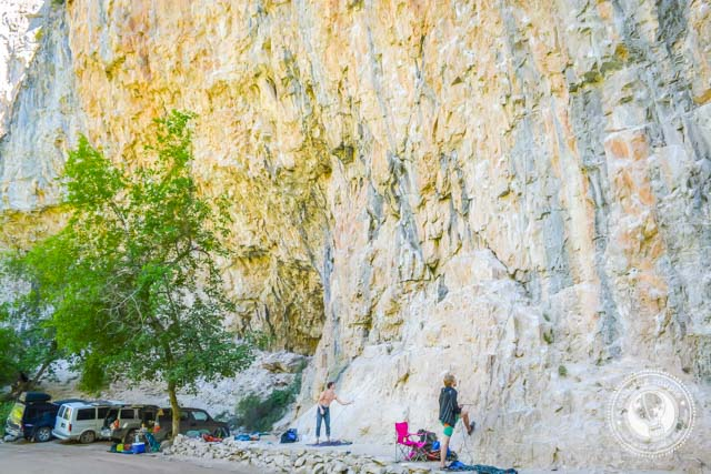 Rock Climbing in Rifle Colorado