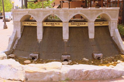 Replica of Wilson Dam - Florence, AL