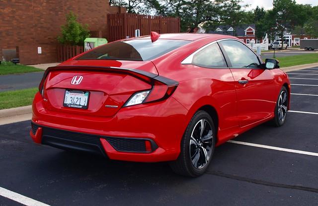 2016 Honda Civic Touring Coupe