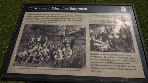Camp Oolenoy signboard - 1
