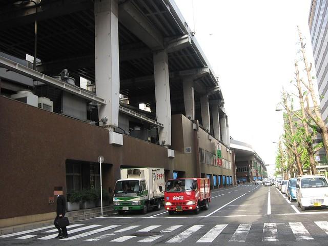 船場センタービル 阪神高速道路 (1)