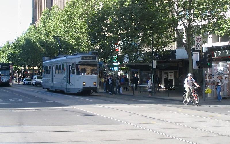 Swanston Street, October 2006