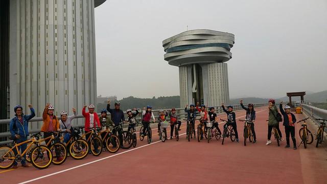 화북초등학교 두바퀴 지역 탐사대