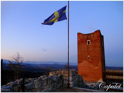 Juliet Capulet's Castle in Montecchio Maggiore