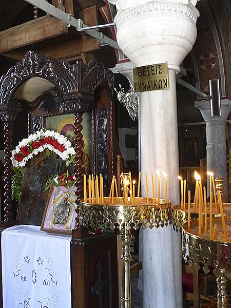 cierges église de filoti