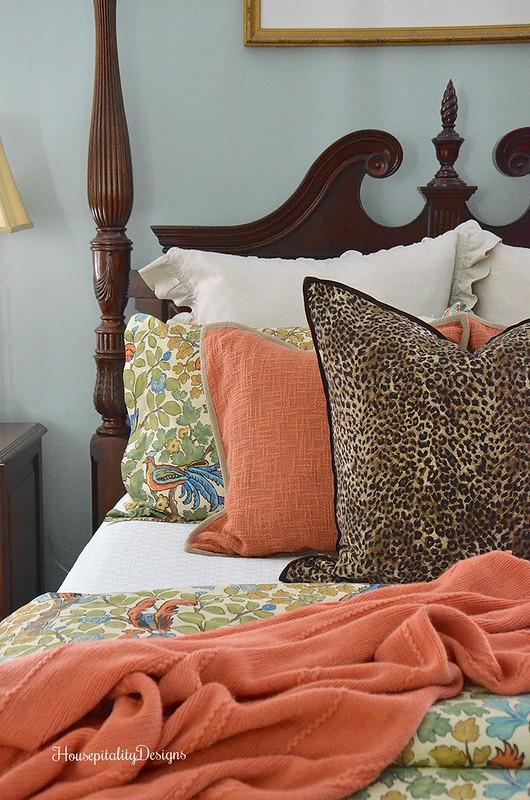 Master Bedroom for Fall - Housepitality Designs