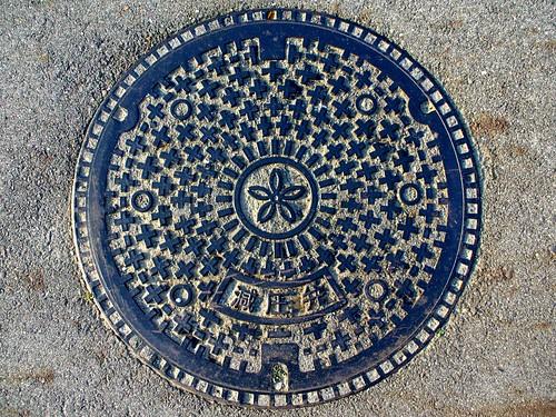 Sakurai Nara, manhole cover (奈良県桜井市のマンホール)