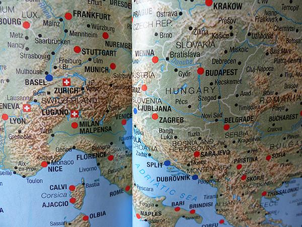 entre la suisse et la grèce