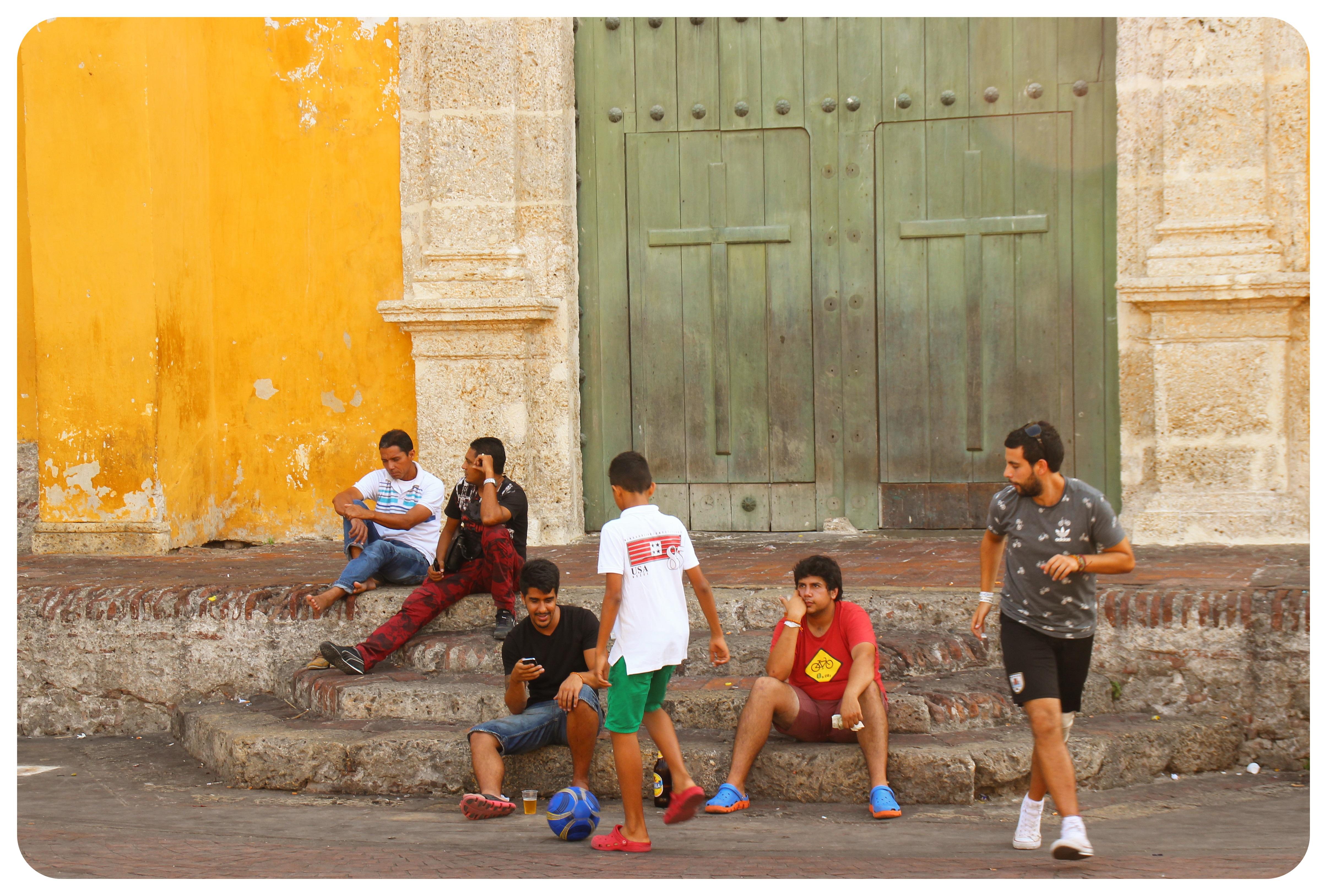 cartagena getsemani boys